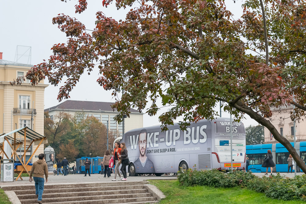 ESRS Wake-Up Bus at Zagreb, Croatia, 10-Oct-2013