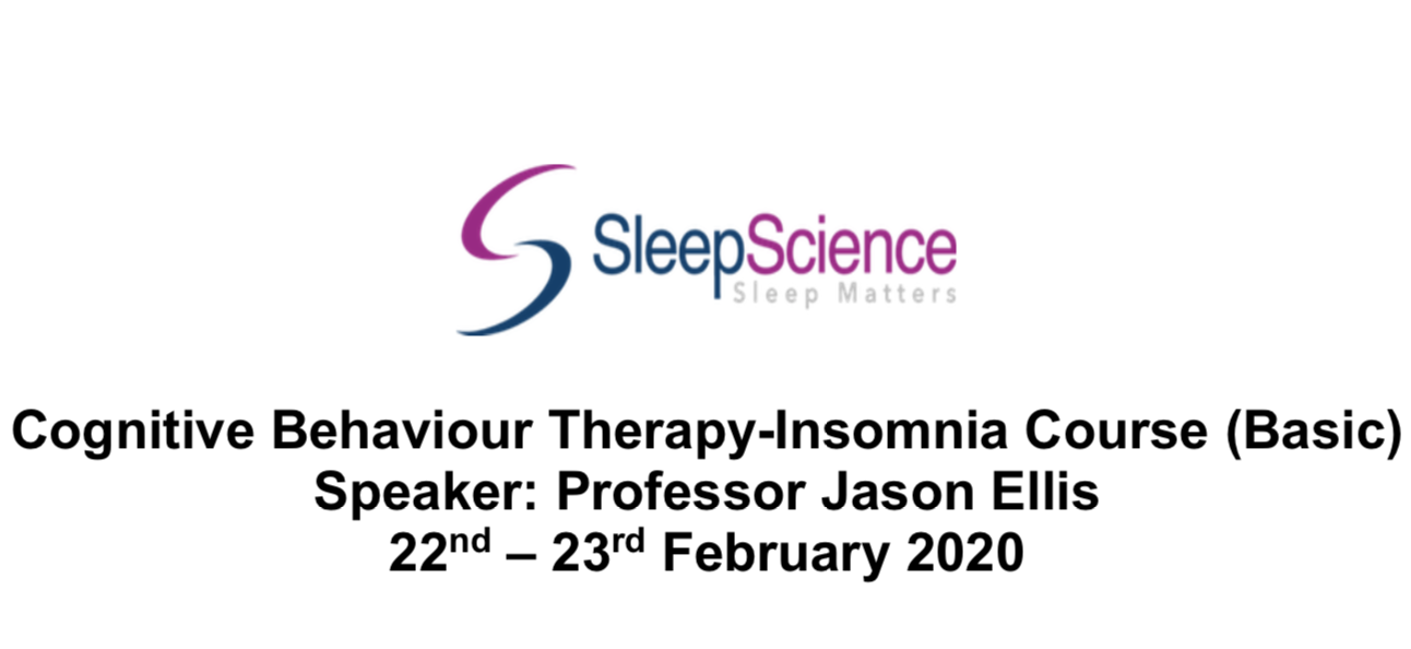 Cognitive Behaviour Therapy for Insomnia (CBT-I) Course